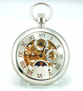OEM Design Mechanical Pocket Watch pictures & photos