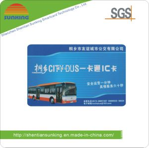 13.56MHz Contactless IC Card for Public Transportation