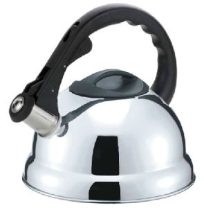 3.0L Fixed Bakelite Auto Open Stainless Steel Whistling Kettle (TK009) pictures & photos
