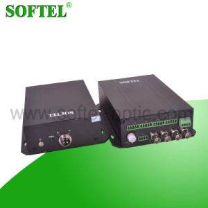 1 Video and 2 Audio Single Fiber Video to Optical Converter pictures & photos
