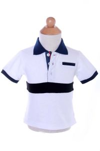 100% Cotton Polo Boys Mesh T-Shirt Children Clothes