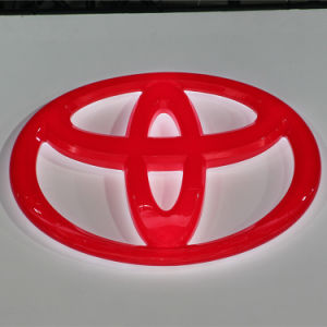 Custom Logo Product Lighting LED Car Signs and Their Names pictures & photos