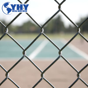 PVC Galvanized Wire Mesh Chain Link Fence for Playground