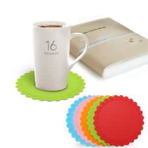 Rubber Silicone Hot Drink Coasters Place Mat Pad Coffee Tea Mug Cup Mat Craft