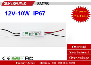 China LED Driver Constant Voltage 12V 10W LED Waterproof Switching ...