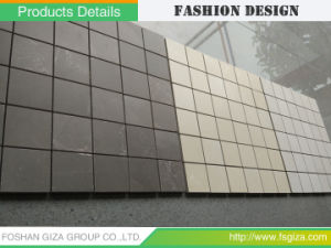 300300 Grey Porcelain Mosaic Tiles For Flooring And Wall 60G15M 1