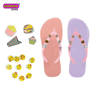 fc7f523292594c China Custom Sandals Shoe Charm Studs Accessories for Flip Flops ...