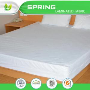 Fully Encased Waterproof Mattress Protector with Zip Antibacterial Anti-Bed Bug