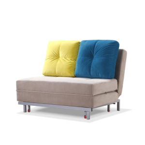Fabric Folded Sleeping Sofa For Living Room