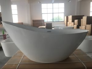 "1850mm/72.8"" Bathroomware Morden Slipper Baths pictures & photos"