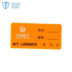 Custom Adhesive Jar Tamper Proof Seal Security Label Sticker