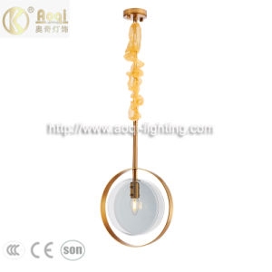 New Modern Concise Style Glass Light Pendant Lamp (AQ-WCQ009-1L)