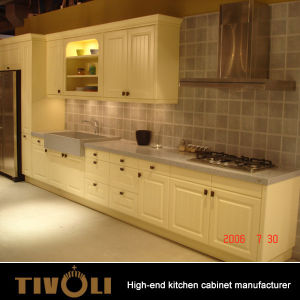 China High Quality Project Used Kitchen Cabinets For Apartments Tv