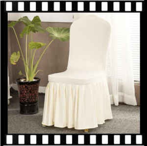 Manufacturer Wholesale Universal Skirt Chair Covers Hotel Pleated Wedding Stretch