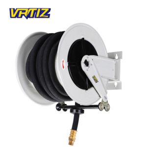 China Large Diameter Longer Pipe Water Hose Reel With Garden Hose Hw620 China Retractable Hose Reel And Water Hose Reel Price