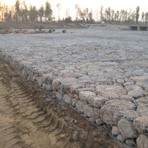 2% Lacing Wire PVC Coated and Galvanized Gabion Box