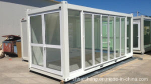 Showroom Built of Flat Pack Container House (shs-fp-commercial001) pictures & photos