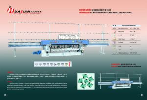9 Motors Automatic Glass Straight Line Beveled Machine pictures & photos