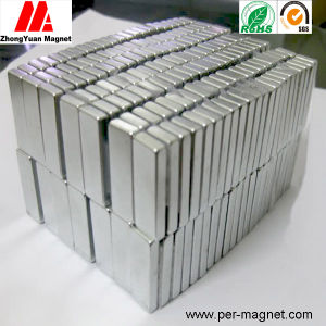 Small Block Neodymium Permanent Magnet for Linear Motion Actuator