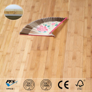 15mm Thickness Horizontal Carbonized Color Solid Bamboo Flooring