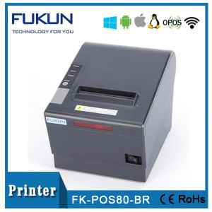 POS 80 mm Thermal Printer Driver with Sound and Light Alarm