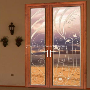 Customized Mother and Son Aluminum Door (66-SR)