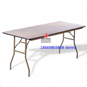 Wholesale Rectangle Hotel Banquet Folding Table pictures & photos