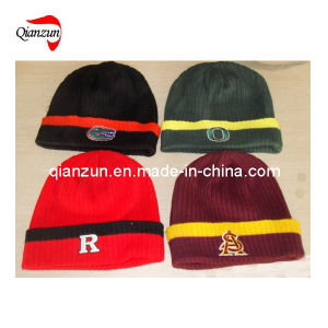 c11ac64565ead China Custom Embroidery Knitted Beanie Cap (LWC-447) - China ...