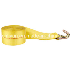 4′′ Winch Strap / Cargo Control Strap / Tie Down Strap with Wire Hook