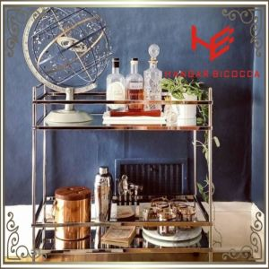 Liquor Trolley (RS150504) Cart Trolley Stainless Steel Furniture