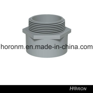 PVC-U ASTM Sch40 Conduit for Electrical Installation Male Terminal Adapter