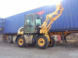 Europe Popular 0.8t Mini Wheel Loader with Ce Certificate pictures & photos