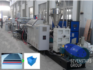1220-3000mm PP Hollow Sheet Extrusion Line pictures & photos