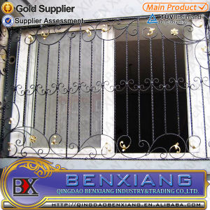 with Fine Quality Wrought Iron Window Grills pictures & photos