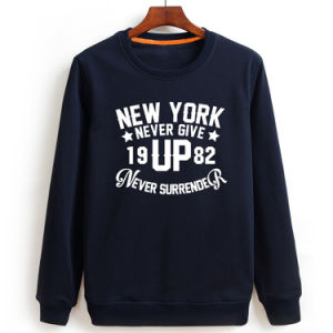 Supplier Long Sleeve 65% Polyester 35% Cotton Screen Printing Terry Sweatshirt Men pictures & photos