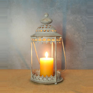 Morocco Style Metal Candle Lantern for Home Decoration