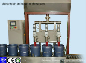 Semi-Automatic Linear Weighing Oil Filling Machine (ISO9001, CE)