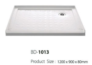 1.2 Meter Long Right Corner Three Flange Shower Tray (BD-1013) pictures & photos