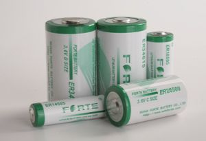 3.6V Lisocl2 Primary Lithium Battery (FORTE ER34615) Ls33600