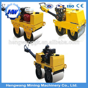 Small hydraulic Double Drum Road Roller Machine Price pictures & photos