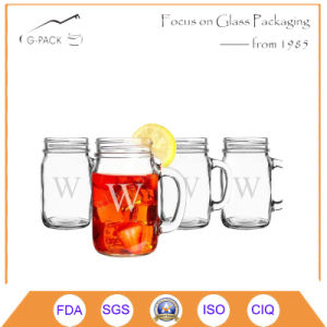 Double Wall Glass Dinking Mugs with Lid pictures & photos