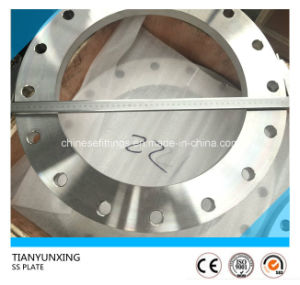 Forged En1092-1 Type01 Plate Stainless Steel Flange pictures & photos