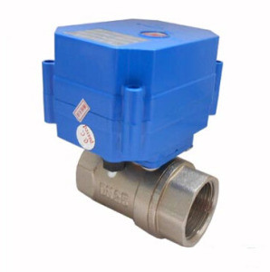 Two Way /Three Ways Motorized Brass Ball Valve