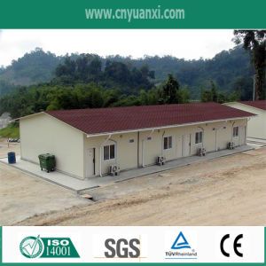 Prefabricated Building Exported to India Used for Temporary Office