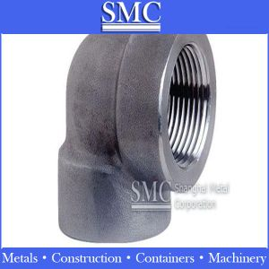 Stainless Steel Threaded Elbow (Package: wooden case, wooden pallet)