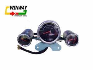 Ww-7208 GS125 Motorcycle 12V Instrument Speedometer pictures & photos