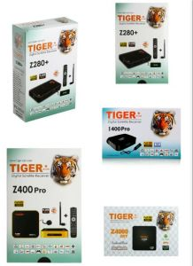 Tiger Star T3000 Z280+ I400PRO Z400PRO Z4000 Ott Android TV Box H  265  Digital Satellite Receiver