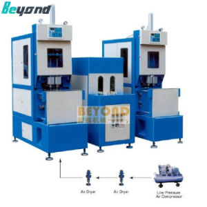 High Quality Pet Semi Automatic Stretch Blow Molding Machine pictures & photos