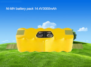 14.4V 3000mAh Ni-MH Battery for Irobot Roomba 500 510 520 530 535 540 550 555 560 562 563 570 580 pictures & photos