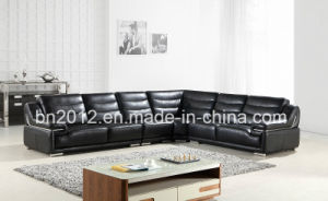 China Italian Home Furntiure Big Corner Sofa H-9138 Leather ...